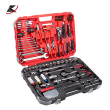 129pcs Professional Mechanic Hand Tools With Ratchet Wrench Set socket set