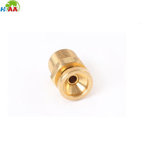 High quality cnc milling brass air shaft valve