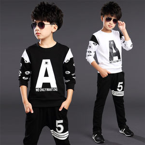 AS-451B Bulk Wholesale Clothing sets For boys Teenage Boy 2pcs Outdoor Jogging Sport Set