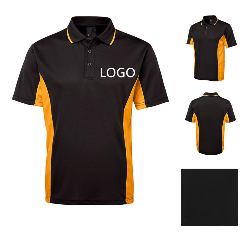 PL001 High Quality Wholesale Latest Design Custom Your Own Logo quick dry Mens Polo Shirt for company uniforms