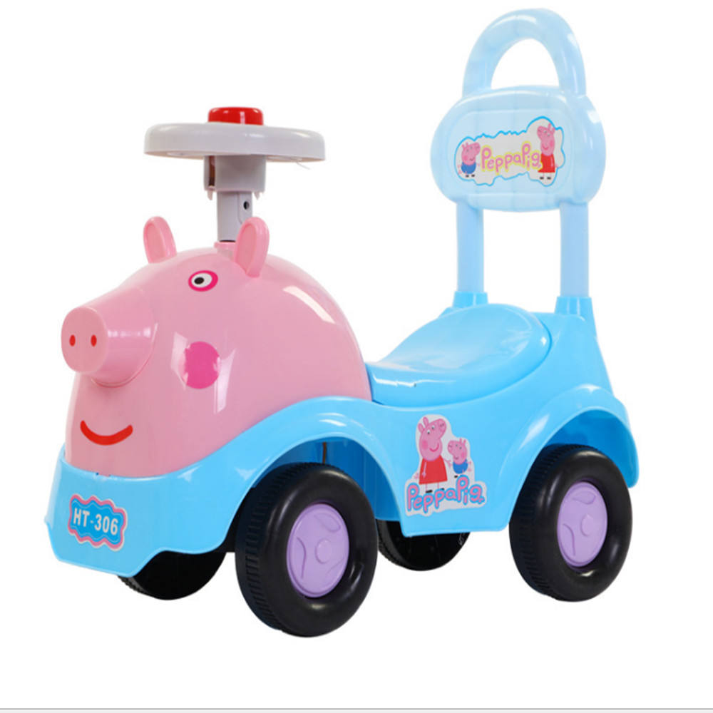 Commercio all'ingrosso carino bambino PP di plastica altalena ride on car