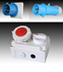 TIBOX 2015 newest waterproof industrial connector switch plug and socket for electric meter box