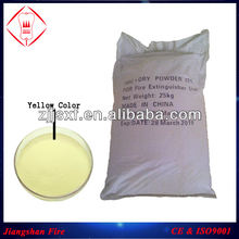 Yellow ABC Dry Powder Fire Extinguisher Powder 20%, 30%, 50%, 75%