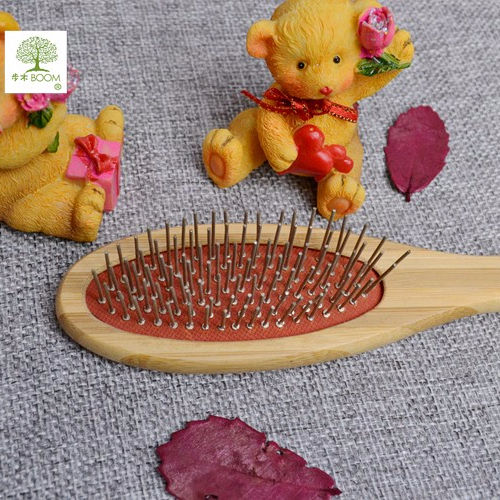 Pet Grooming Tools Wooden Dog Hair Remover Make up Slicker Brush Pet Fur Lint Bath Comb Pet Accessories Making Supplies