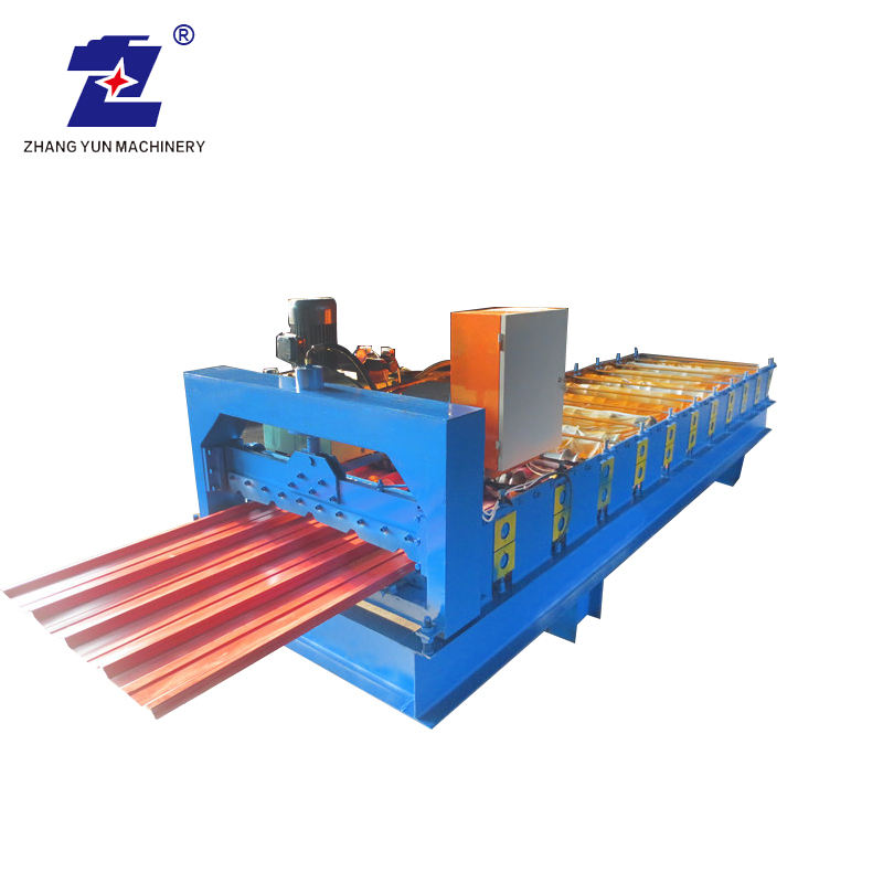 Akurasi Tinggi Superior Teknik Steel Roofing Sheet Roll Forming Machine