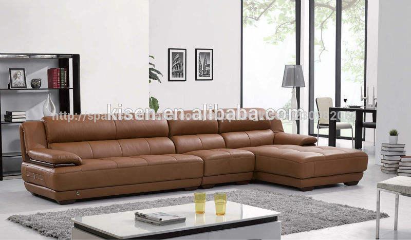 muebles para el hogar de la sala de sofás modernos de alto estándar
