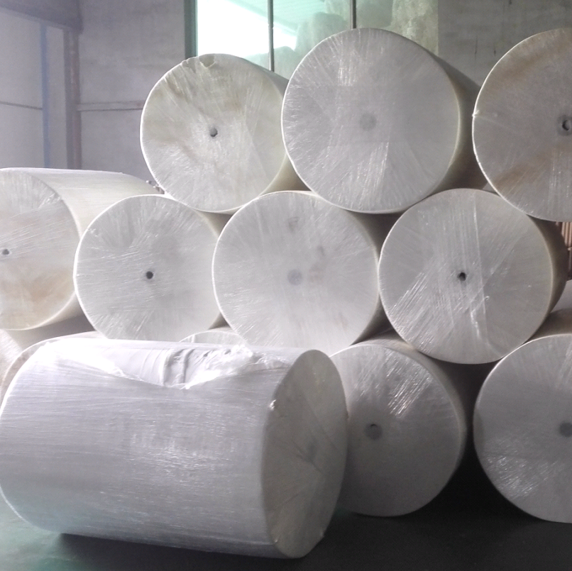 Wholesale tissue raw material mother roll toilet paper