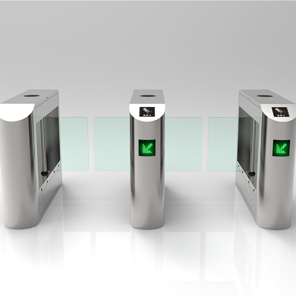 Security Access Control System Access Control Swing Turnstile Gate Barrier For Sale