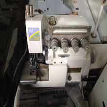 Second hand pegasus M-700 four thread used overlock sewing machine