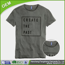 US new custom design mens name brand garment top brands t shirt
