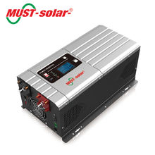 EP3000 PRO 1-6kw low frequency pure sine wave output smart battery designed for optimized battery porfermance power inverter