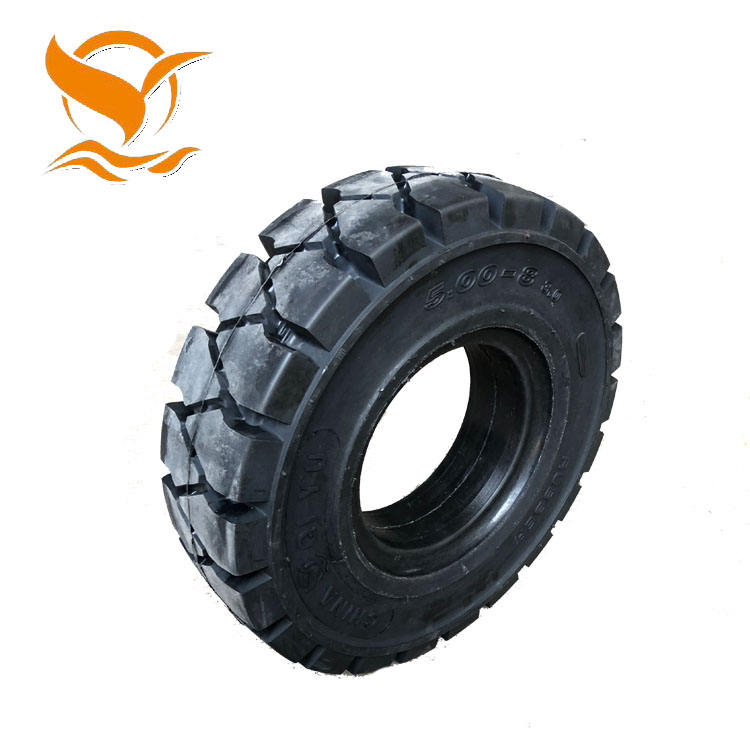 Baigule tires Industrial Solid Rubber Tires for forklift truck