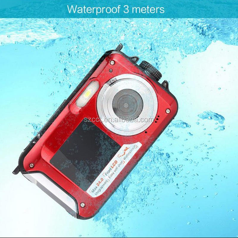 "2.7"" Display Waterproof Made in China Photo Digital Camera"
