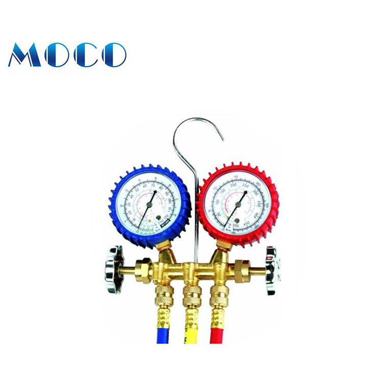 Free samples available air pressure r134a manifold gauge set
