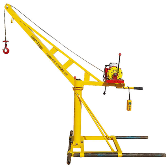More Lifting Weight High Floor Building Safe Concrete Crane