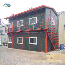 Prefab Workers Dormitory in Namibia