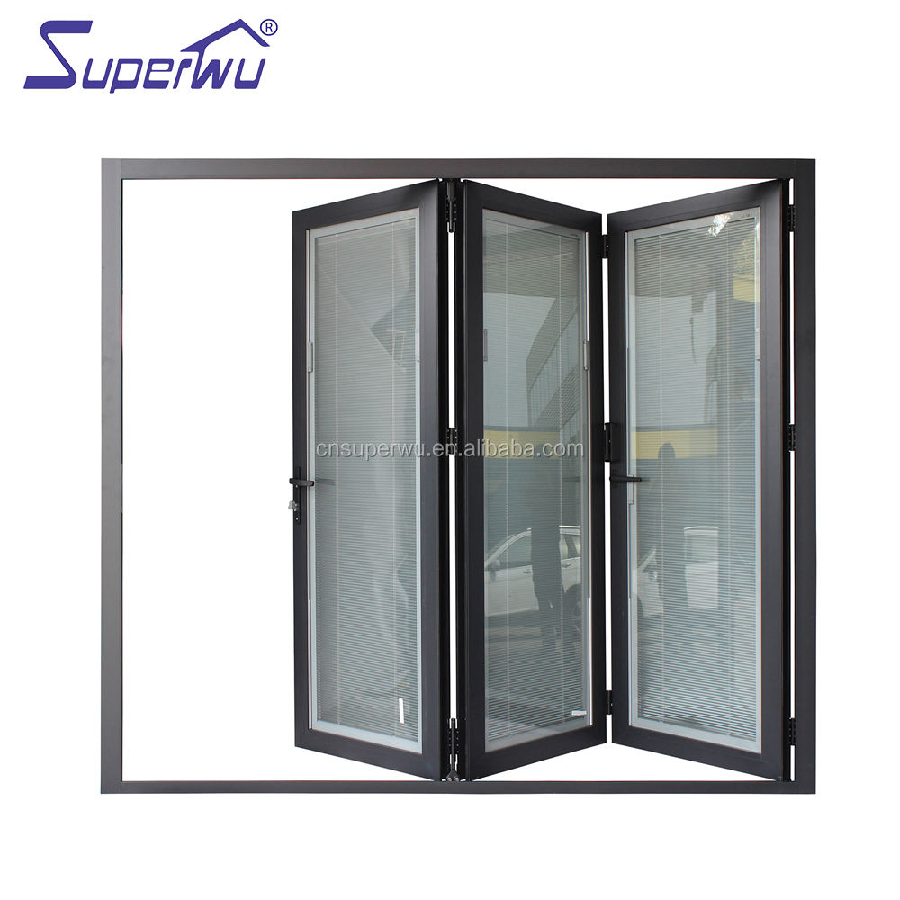 Accordion Doors [ Door Laminated Glass Doors ] Glass Laminated Glass Door Aluminum Alloy Door Laminated Glass Accordion Doors Bathroom