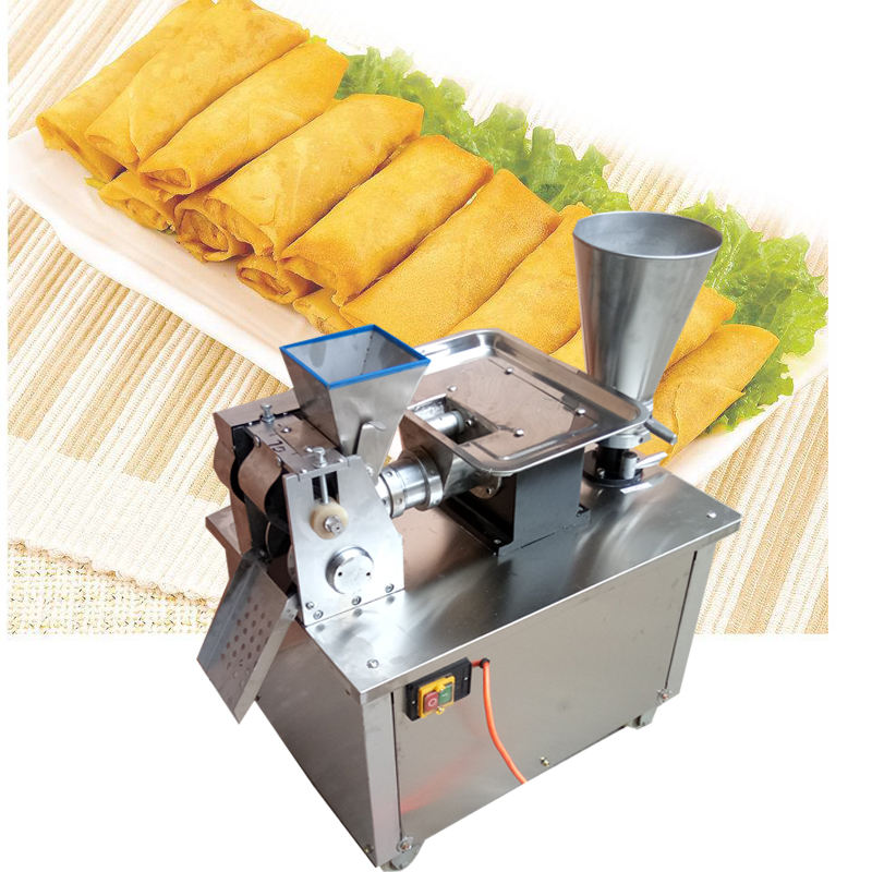 automatic samosa making machine/dumpling machine/spring roll machine