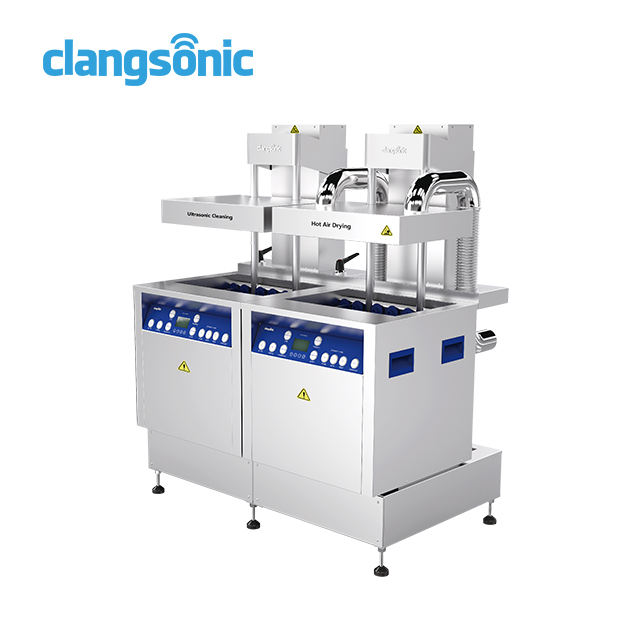 Clangsonic high quality multi-frequency auto parts washing machine similar to branson 8510 ultrasonic cleaner 100 litres