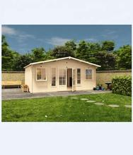 cheap morden tiny prefab garden house /garden office/wood house with open plan style