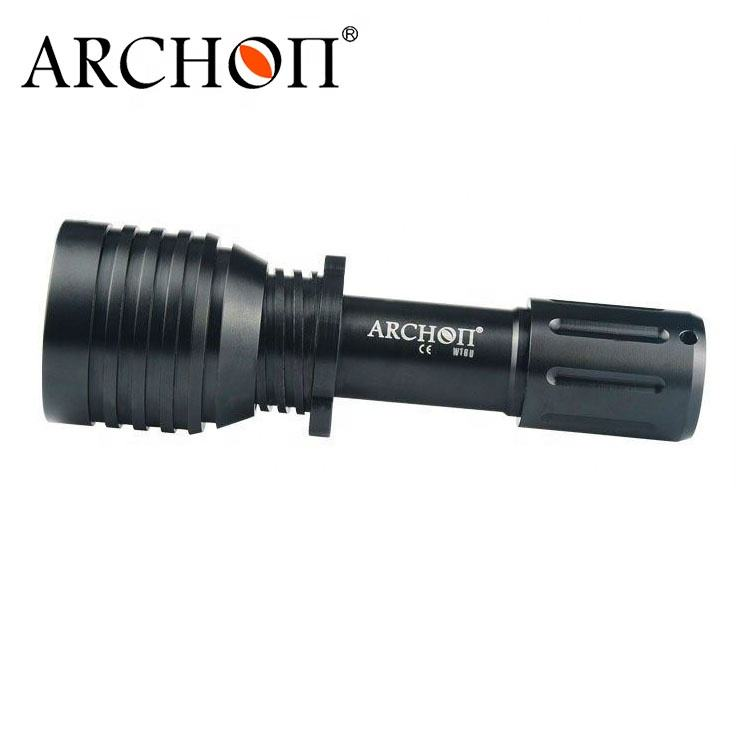 wide angel diving torch 18650 Li-ion battery underwater hid diving video light