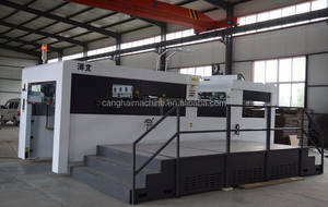semi automatic die cutting and creasing machine for sale
