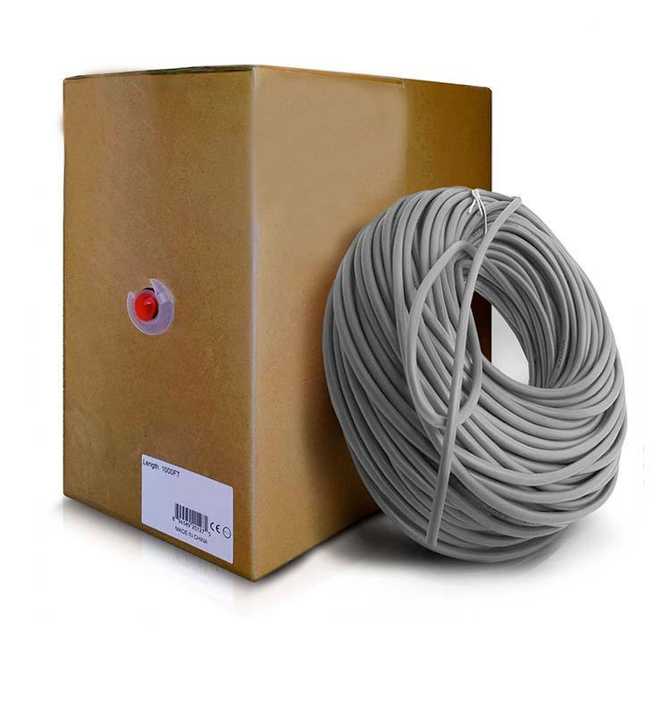 300m/Roll Bulk Cat6 Ethernet Cable 550Mhz 24AWG Full Copper Wire UTP PatchコンピュータLANコード