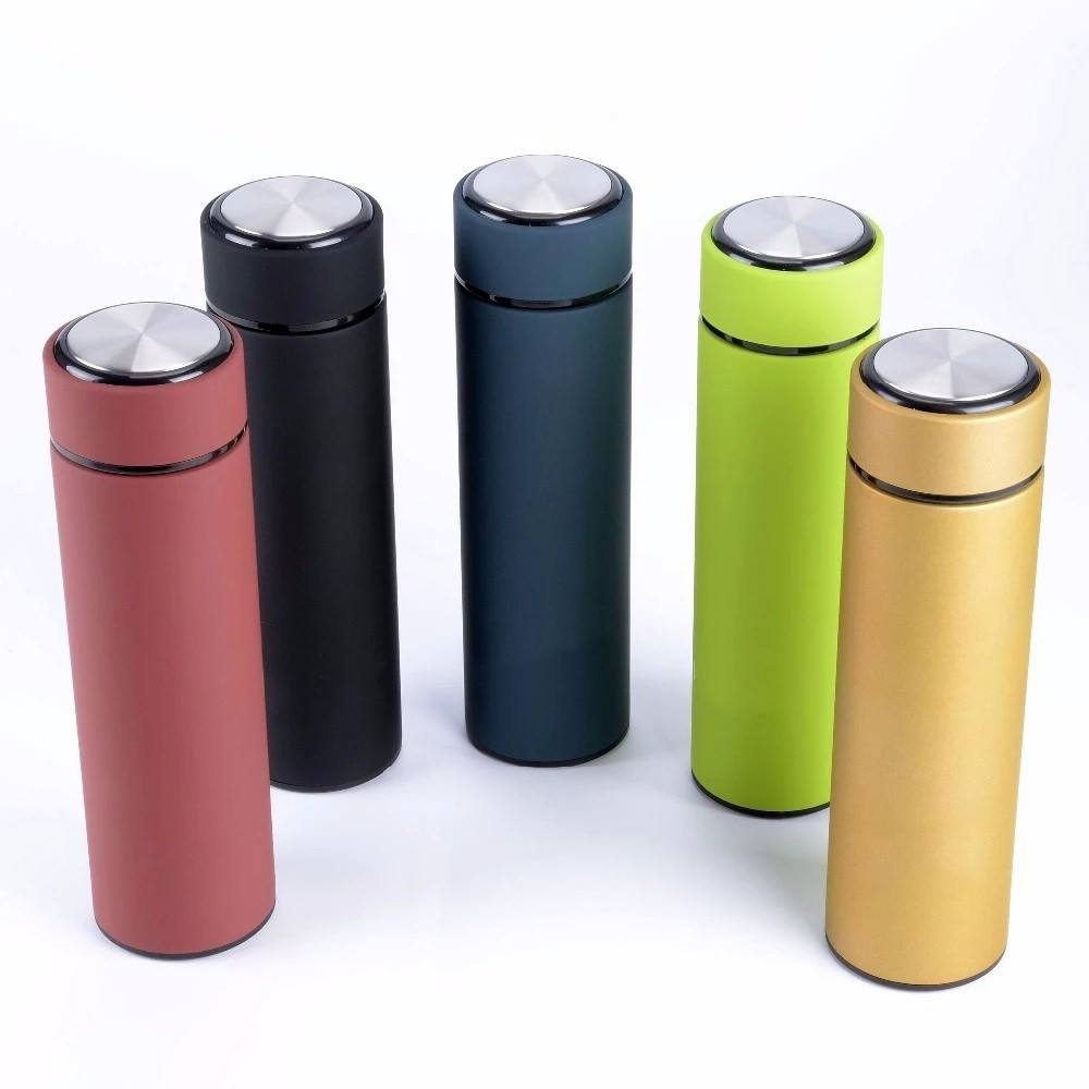 Hot Sale Botol Air Vakum Terisolasi 304 Stainless Steel Flask Tetap Dingin dan Panas