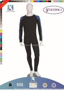 2015 de la alta calidad caliente de la venta militar suave hombres tejido de polipropileno ropa interior térmica