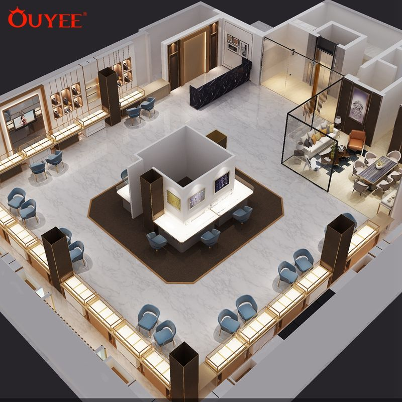 Luxury Modern Jewelry Showroom Counter Design Images Jewellery Shop Furniture Design In India