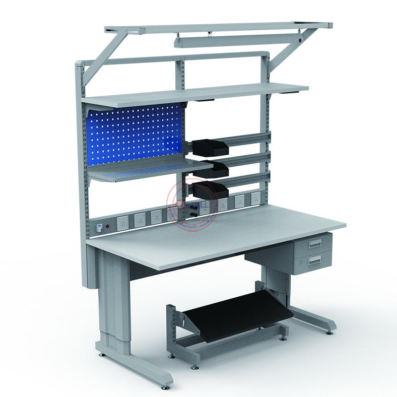 lab shop esd electric workbench laboratory furniture