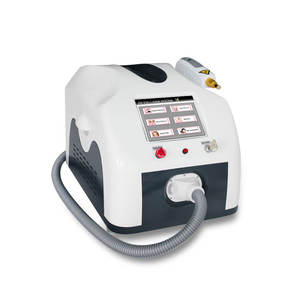 CE FDA approved portable tattoo removal q switched nd yag laser