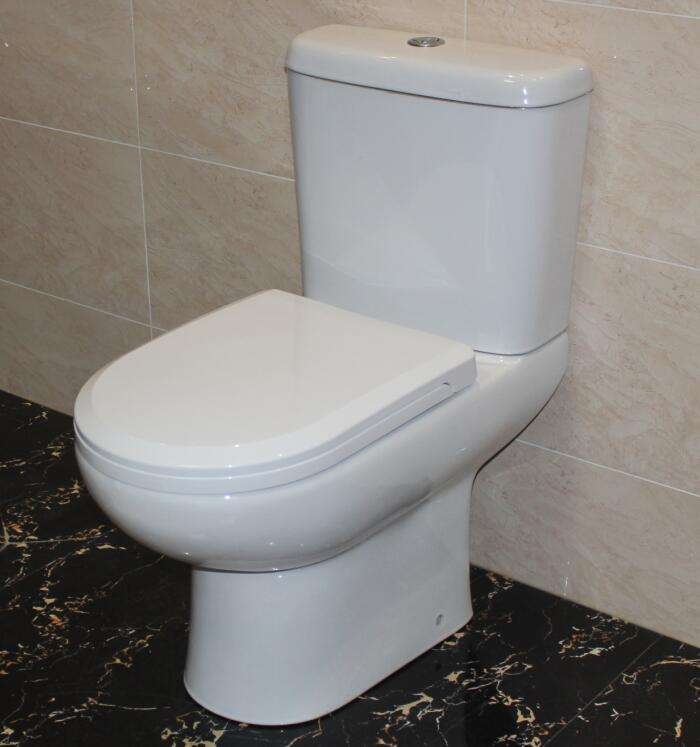 China Supplier Bathroom Close Coupled Toilette with CE(HTT-27)