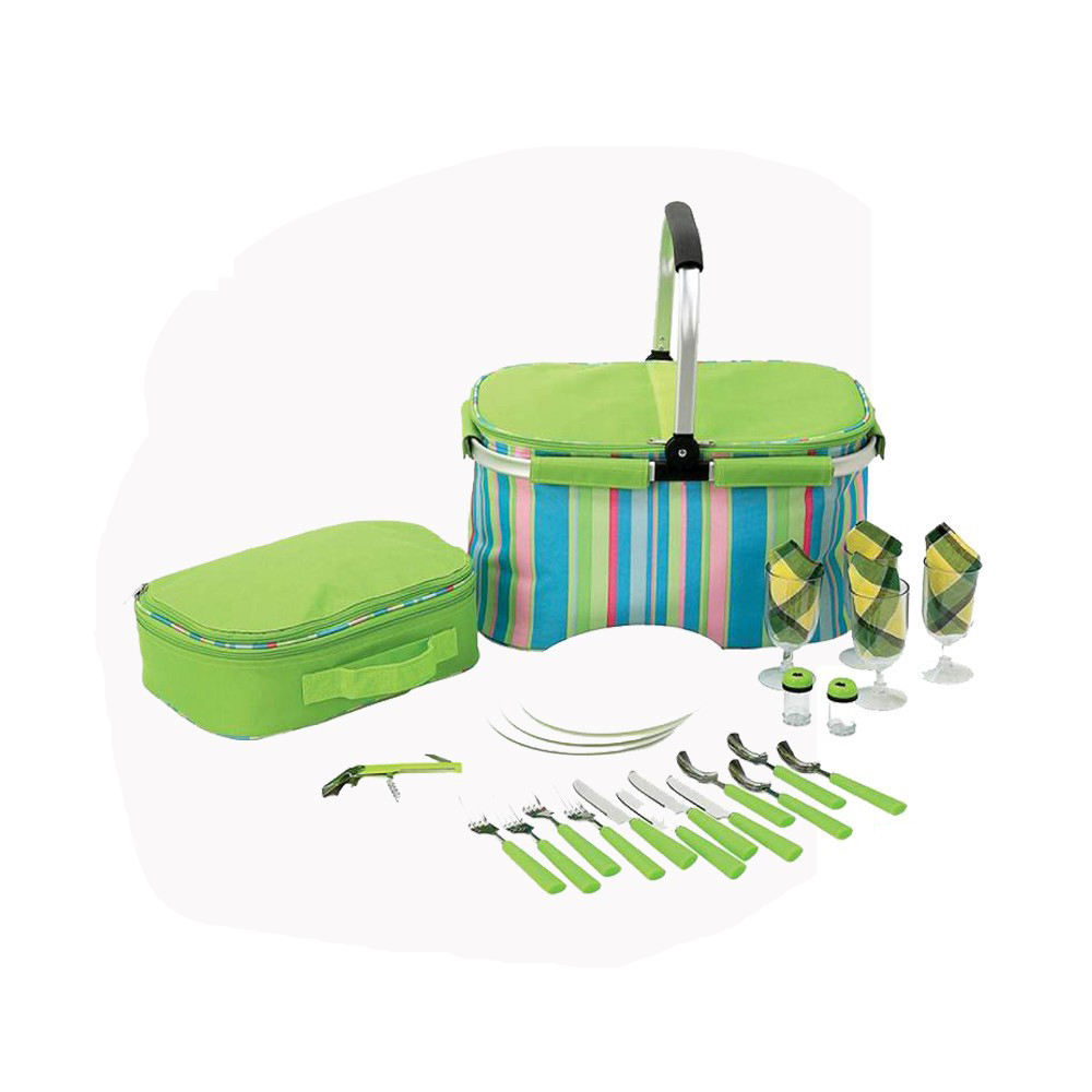 folding picnic bag set for 4 person
