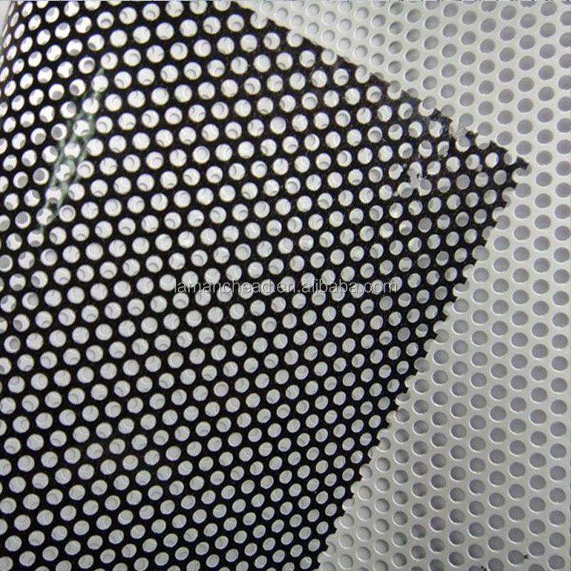 Window Covering One Way Vision Perforated Vinyl Rolls