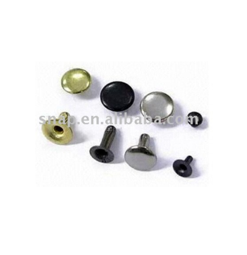 metal jeans rivets CR 4.5, 6, 7, 8, 9, 10, 13 and 15mm