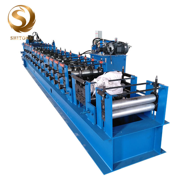 Purlin Roll Forming Machine Steel C Purlin Roll Form Machine/ Metal C Z Channel Profiles Making Machine