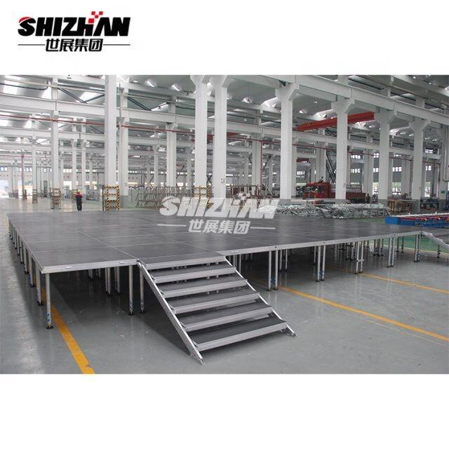 mini aluminum outdoor portable event performance stage
