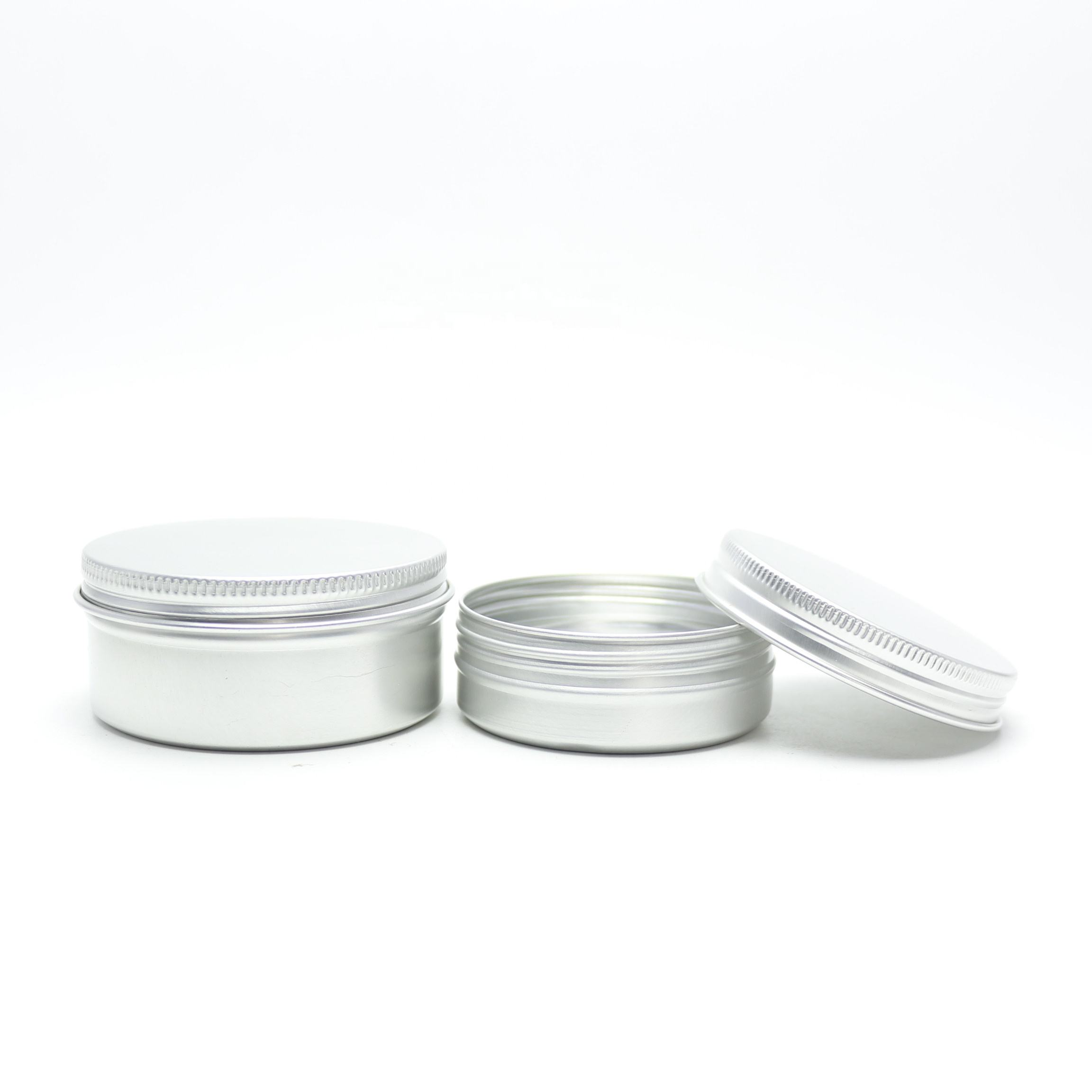 d82*h27mm 100g pomade container 100 ml aluminum tin jar AJ-008T