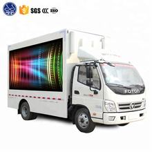 LED Screen Mounted Outdoor Mobile Advertising Car