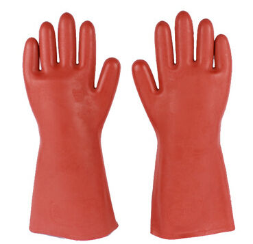 12KV Rubber Insulating Gloves/Protection Against Electrical Shock
