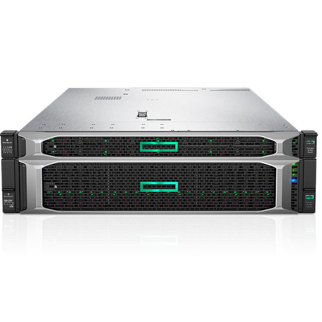 HPE ProLiant DL380 Gen10 6132 2P 64GB-R P408i-a 8SFF 2 × 800W PS Server