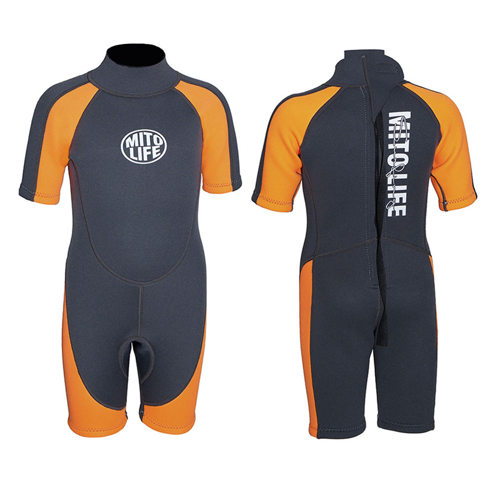 High quality with low price kids neoprene printing wetsuit