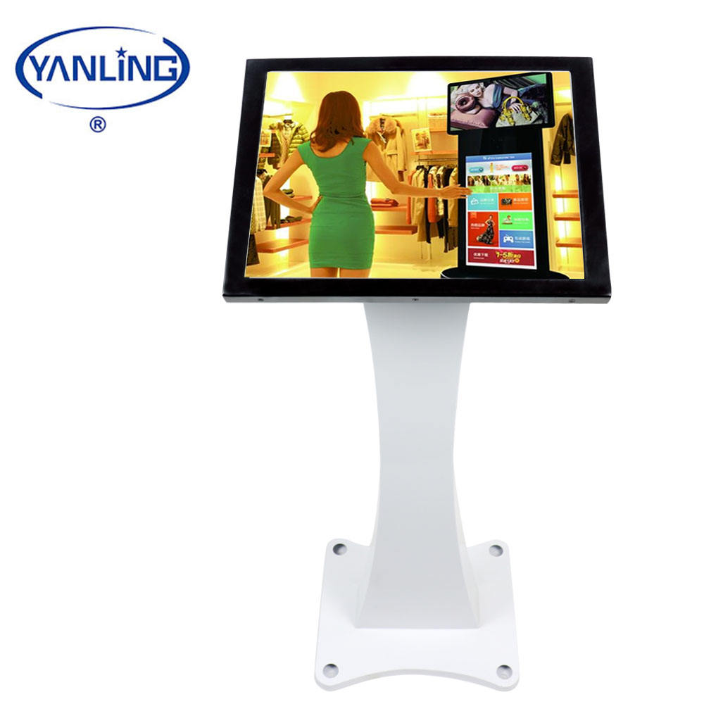 YanLing New Intel J1900 All-in-one pc with Fan and Resistive Screen Touch Computer For School Teaching