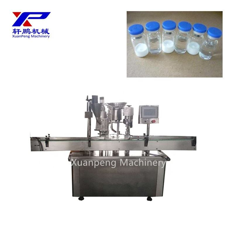 Medical use syringe filling and caps closing machine produaction full line