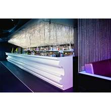 Luxury design high class bar counter solid surface bar counter for nightclub/cafe