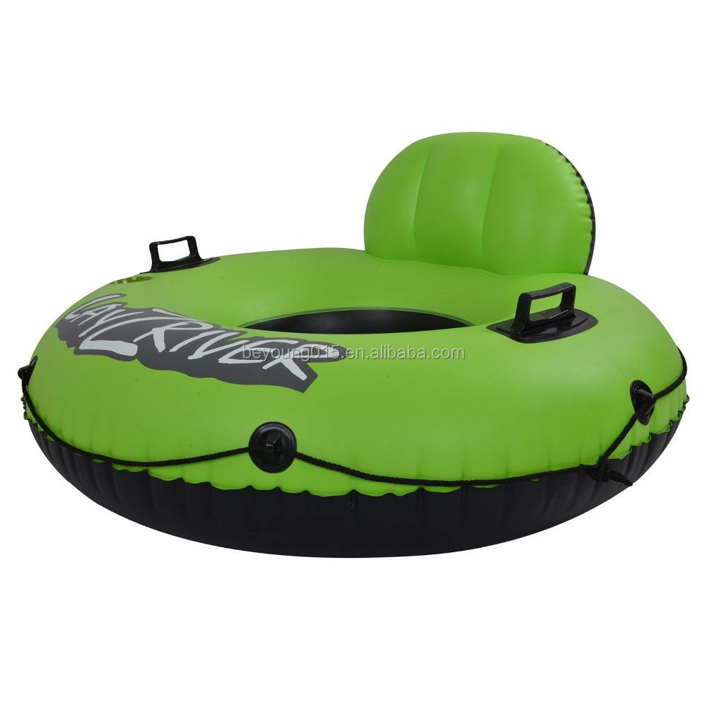 "49"" cheap inflatable beach chair/ Lounge Tube Swimming Pool River Lake Float Chair"