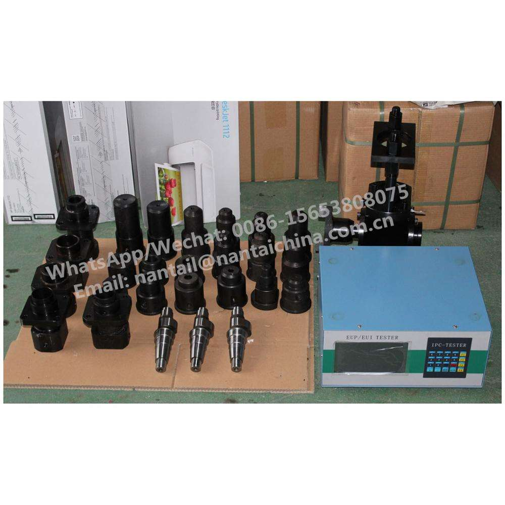EUI EUP TESTER WITH CAM BOX 23 PCS ADAPTERS AND 4 PCS CAMSHAFT ACCESSMBLY