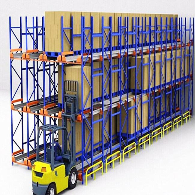 High quality Radio Shuttle Electric Mobile Pallet Rack