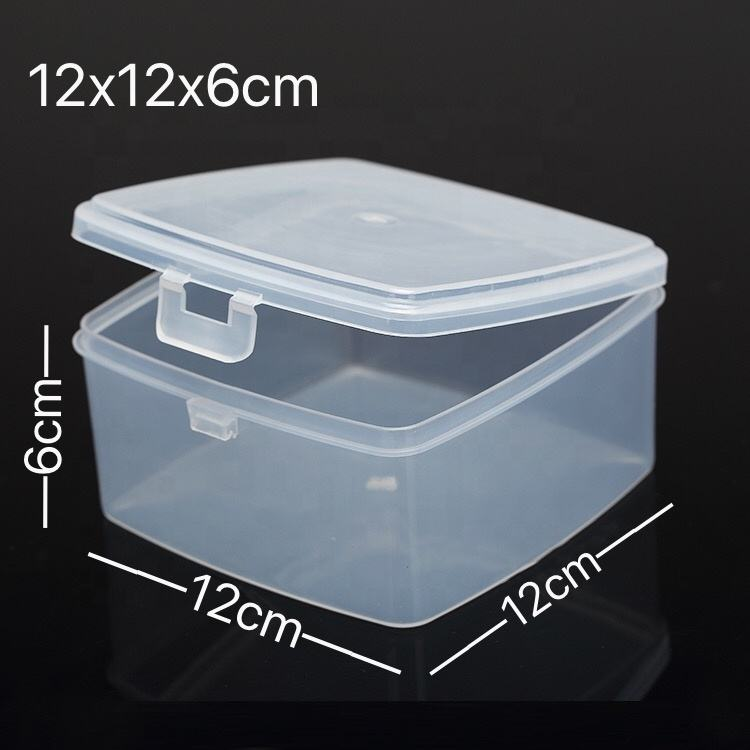 Airtight Transparent Stackable Reusable Plastic Food Container Box Storage